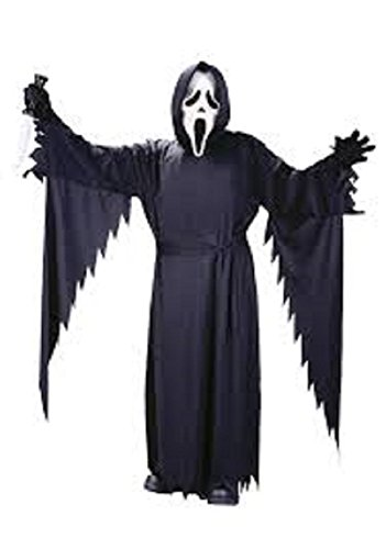 Child GhostFace Costume/Robe - One size fits up to child 14 (Mask not included)