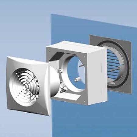 S/&P Kit adaptateur de fen/être pour extracteurs SILENT-100 et DECOR-100