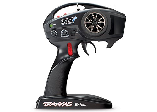 Traxxas 6507R TQi 2.4 GHz High Output 4-Channel Radio System with Traxxas Link Wireless Module, TSM (Traxxas 4 Channel Transmitter)