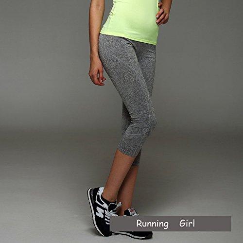Xuanytp Yogahosen Frauen Fitness Elastische Workout Frauen Sporting Leggins Stretch Hosen Atmungsaktive Hosen Für Weibliche
