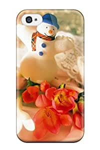 High Quality Shock Absorbing Case For Iphone 4/4s-christmas Holiday Christmas