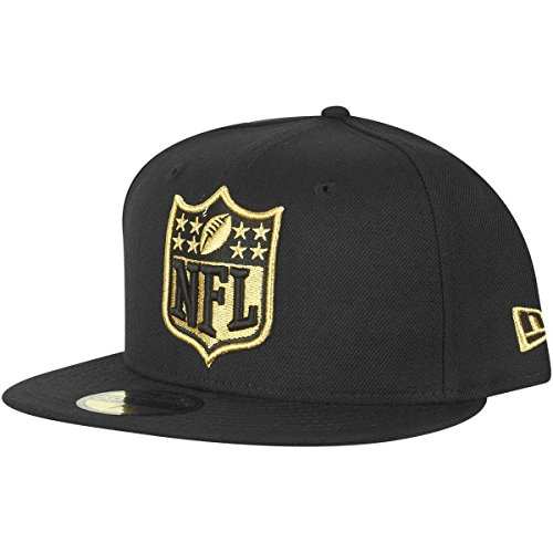New Era 59Fifty Fitted Cap - NFL SHIELD Logo schwarz - 7 1/4