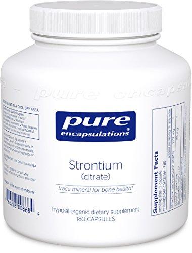 Pure Encapsulations Strontium Hypoallergenic Supplement