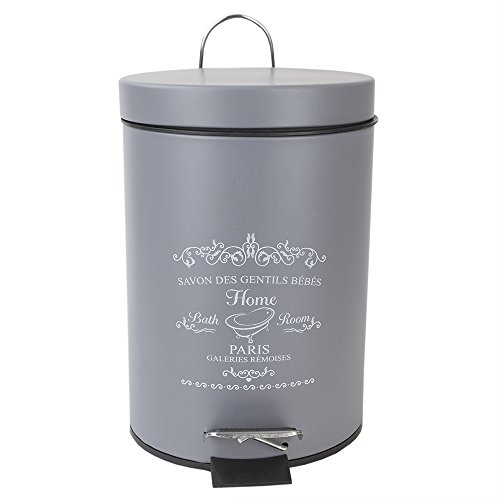 decorative garbage cans with lids - 3