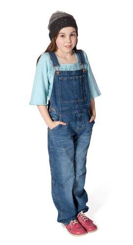 Uskees Little Girls Denim Bib Overalls Age 4 6 8 -3927