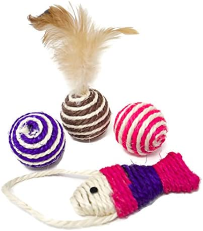 Youngever 24 Cat Toys Kitten Toys Assortments, 6