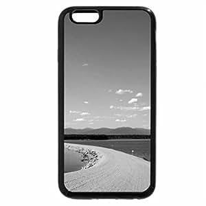 iPhone 6S Plus Case, iPhone 6 Plus Case (Black & White) - williston lake in british columbia