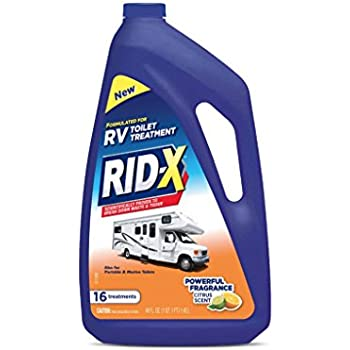 Amazon.com: RID-X RV Toilet Treatment Liquid, 16