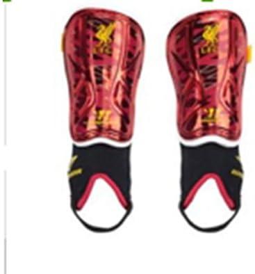 Espinilleras – GR.XS para Mini futbolín – hasta 120 cm de tamaño Corporal Liverpool: Amazon.es: Deportes y aire libre