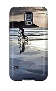 Imogen E. Seager's Shop New Biking Along The Water Protective Galaxy S5 Classic Hardshell Case M4LBA2YLOTIYE2VI