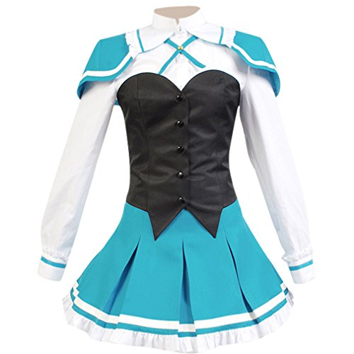 Price comparison product image Allten Women's Cosplay Costume Absolute Duo Lilith Bristol Student XXXL