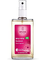 Weleda Wild Rose 24h Deodorant Spray, 3.4-Ounce