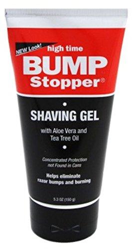 High Time Bump Stopper Shave Gel W/Aloe& Tea Tree Oil 5.3oz (2 Pack) Tea Tree Oil Shaving