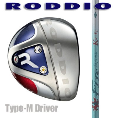 RODDIO ドライバー Type-M Fire Express K2 F5 9°/ブラック