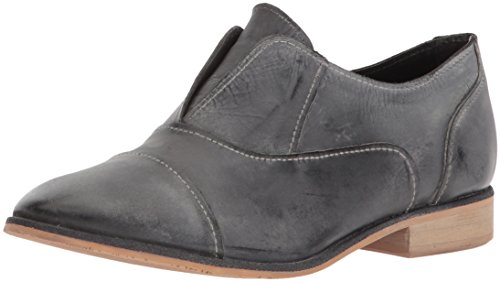 Naughty Monkey Women's Slip Knot Oxford, Black, 7.5 M US - Naughty Monkey Shoes Com