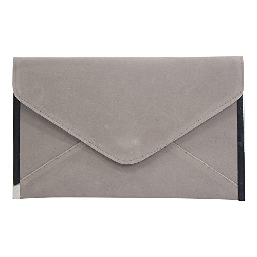 Cocktail Grey Handbag Bag Chain Envelope Clutch Evening New Yellow Party Women Wiwsi Wedding q0xBCC