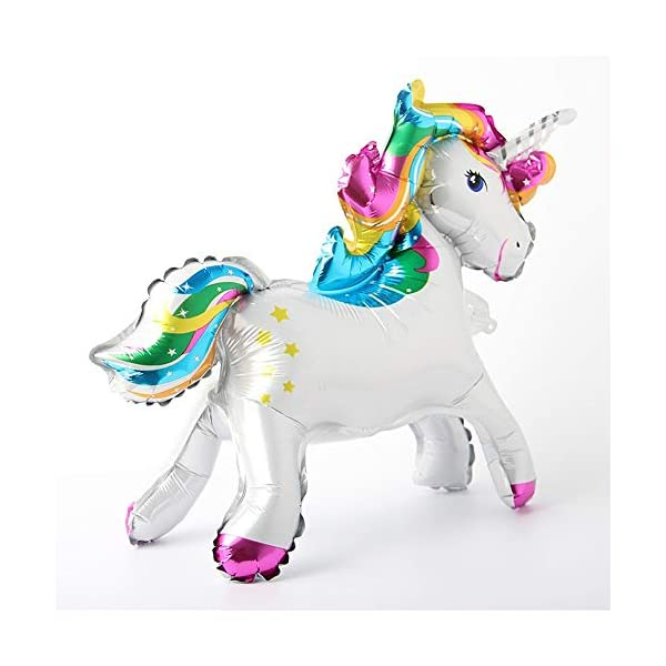 Self Stand steadily Unicorn Birthday Party Decorations Supplies Wedding Engagement Children's Day Foil Unicorn horse… 6