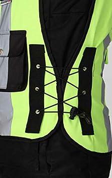 Pro First MB Herren Motorrad Fahrrad Sicherheit reflektierende wasserdichte Motorrad Hiviz Weste Jacke hohe Sichtbarkeit