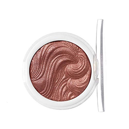 (Redvive Top Professional Makeup Face Powder Single Colors Bronzer Highlighter Powder)