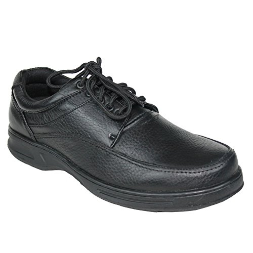 Djdj 565 Heren Lederen Casual Schoen (breed) Zwart