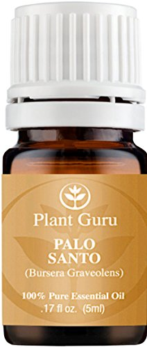 Palo Santo (Holy Wood) Essential Oil 5 ml. 100% Pure, Undiluted, Therapeutic Grade.
