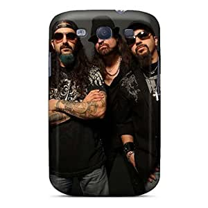 Scratch Resistant Hard Phone Cover For Samsung Galaxy S3 With Custom Vivid Papa Roach Pattern PhilHolmes
