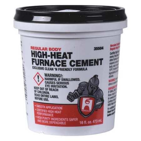 Hercules Furnace Cement, High Temperature, 1 pt.