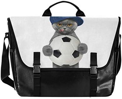 メッセンジャーバッグ メンズ アメリカ風 猫 ボール 斜めがけ 肩掛け カバン 大きめ キャンバス アウトドア 大容量 軽い おしゃれ