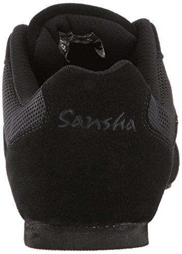 Jazz Sansha Salsette Zapatillas Negro 3 wTzqx71q