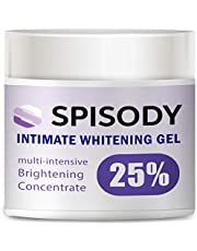 SPISODY Іntіmatе Whіtеnіng Cream for Face and Body Cream, Effective Cream for Armpits, Intimate Parts, Between Legs, Underarm, Neck, Knees with Mulberry Extract, Arbutin, Licorice Extract