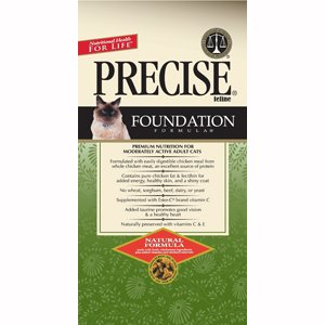 Precise 726109 5-Pack Feline Foundation Food for Pets, 6-Pound by Precise