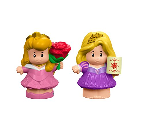 Disney Characters As Babies (Fisher-Price Little People Disney Princess Aurora & Rapunzel Figure)