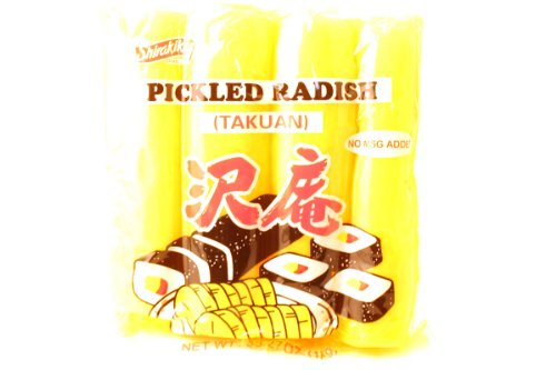 takuan pickled radish - 2