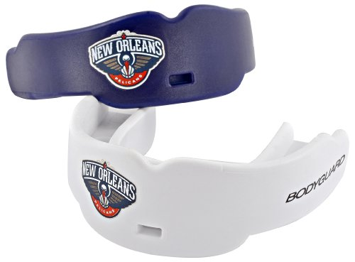 Bodyguard Pro NBA New Orleans Pelicans Adult Mouth Guard by Bodyguard Pro