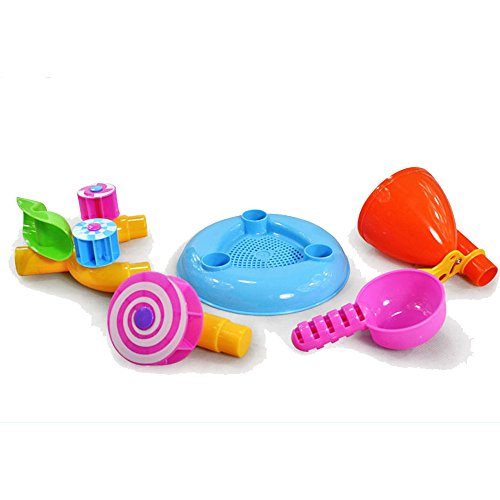 Kids Funny Playing Sand Beach Toys Used To Rake,dig,pile,mold And Build The Castle Enjoy Your Shopping Time,have A Nice (Farm Tractor Deluxe Party Pack)