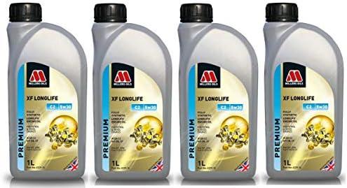Millers Oils XF Longlife 5w30 C2 SN Aceite de Motor, 4 litros ...