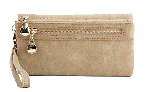 XJW Wristlet Portefeuille Handbags Carteira