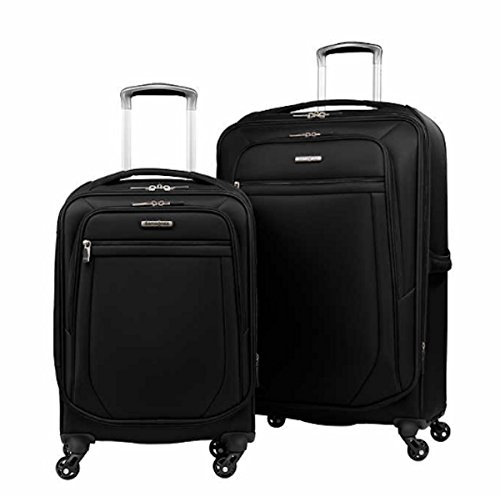 Samsonite Ultralite 2.0 2-piece Softside Spinner Set (Black) by Samsonit