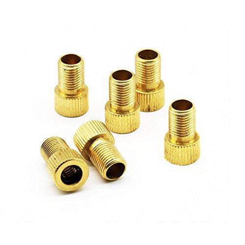 Set of 3 valve adaptor valve adapter bicycle schrader Dunlop valve Air Pump
