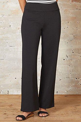 Fair Indigo Fair Trade Ponte Knit Full Leg Pants