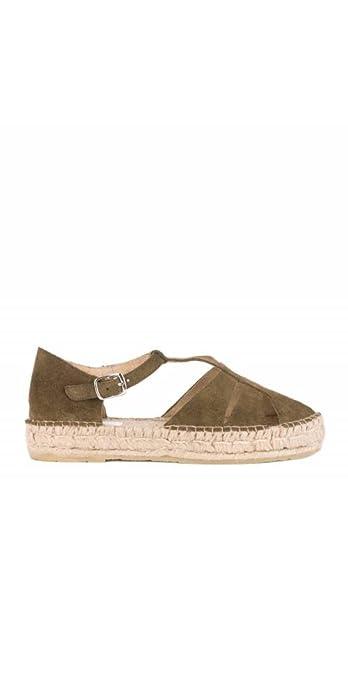 Pera LIMONERA Alpargatas Cangrejeras Plateadas: Amazon.es: Zapatos y complementos