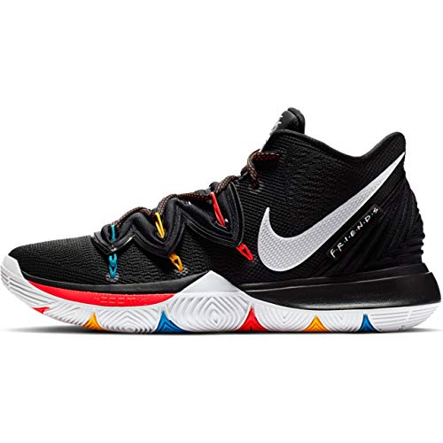 Nike Kyrie 5 Mens Sneakers AO2918-006, Black/White/Bright Crimson, Size US 11