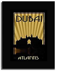 Atlantis - Sepia F04-m (a2) - Framed