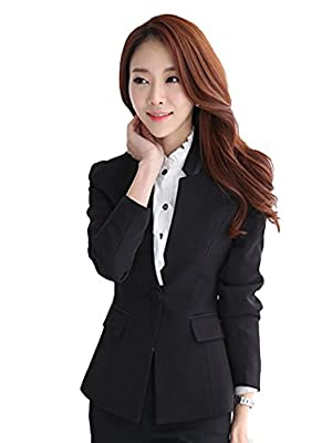 Chickle Women's 2 Piece Formal Wear Bodycon Business Suit Set