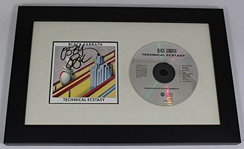 - Black Sabbath Technical Ecstasy Ozzy Osbourne Hand Signed Autographed Music Cd Cover Compact Disc Custom Framed Display Loa