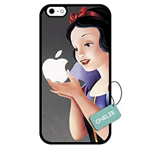 Diy Disney Princess Pocahontas White Hard Plastic For Iphone 6 Plus 5.5 Inch Cover