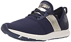 Enhance your athleisure look with this comfy and casual New Balance fuelcore energize sneaker for women. The slip-on silhouette offers versatile style characterized by a clean-lined, modern upper with unexpected details New Balance signature ...