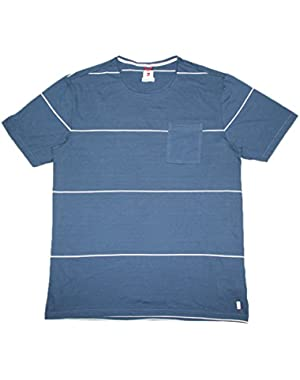 BIG & TALL Quiksilver Mens Surf & Skate Crew-Neck T-Shirt / Tee