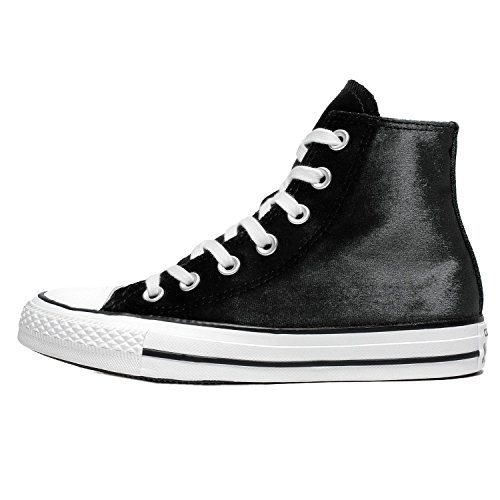 Hi Womens Velvet All White Chuck Trainers Star Converse Black Taylor wPxCqdXX