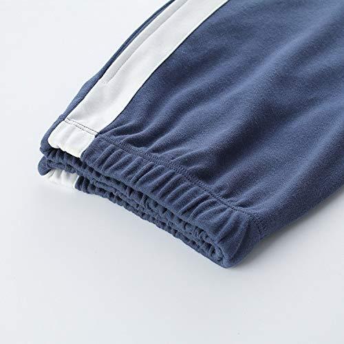 M Irregolarità Cartoon l In Vita Cotone Set Dukunkun Elastico Lounge Pigiama Sleepwear wPqxdA5A